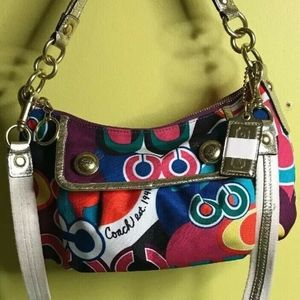 Coach Poppy Pop C Groovy Crossbody Shoulder Bag